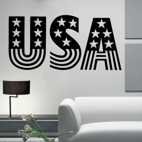 Vinilo decorativo USA