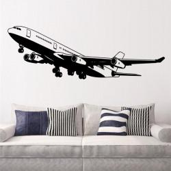 Vinilo decorativo Avión comercial