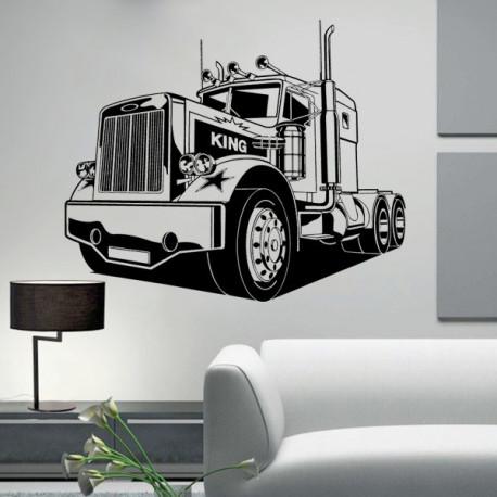 Vinilo decorativo Camión Americano