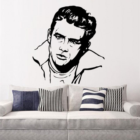 Vinilo decorativo James Dean