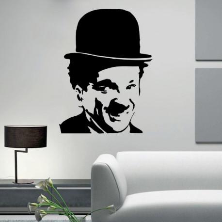 Vinilo decorativo Charles Chaplin