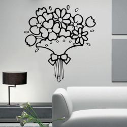 Vinilo decorativo Ramo de Flores