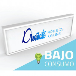 Rótulo luminoso LED