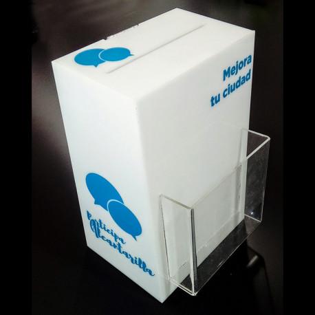 Urna Votación Portafolletos