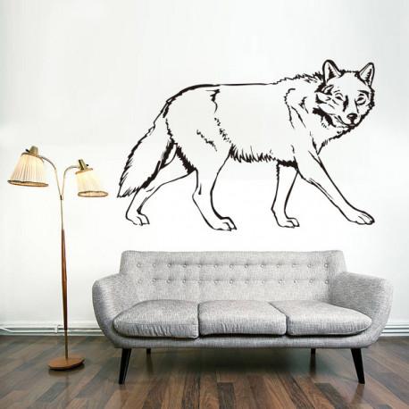 Vinilo decorativo Lobo