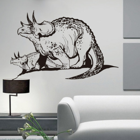 Vinilo decorativo dinosaurio