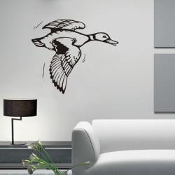 Vinilo decorativo Pato Volando