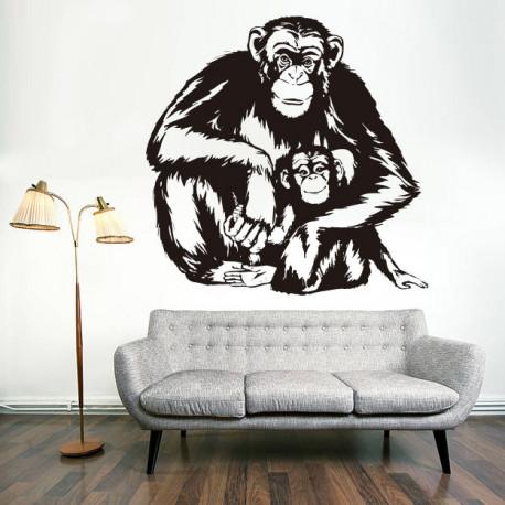 Vinilo decorativo Mono, Chimpancé