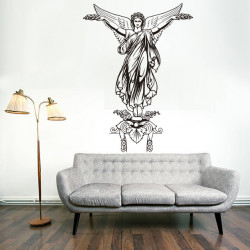 Vinilo decorativo Angel con alas
