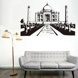 Vinilo decorativo Taj Mahal, India