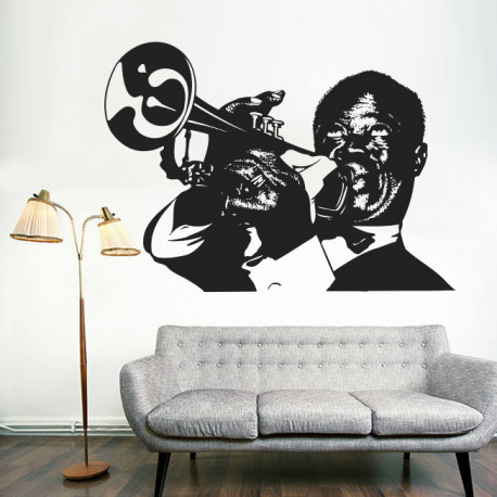Vinilo decorativo Jazz