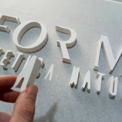 Dimensional Letters pvc
