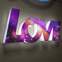 Luminous Love Sign